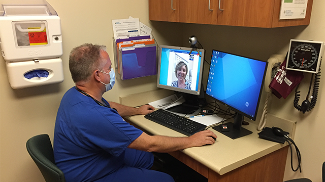 NH+C offers Video Visits for clinic care in your home